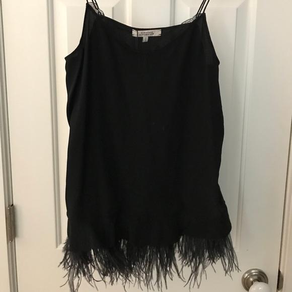 374f5db9cfef42 Dorothee Schumacher black silk camisole